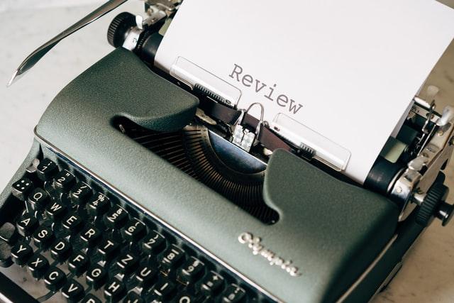 A typewriter printing review